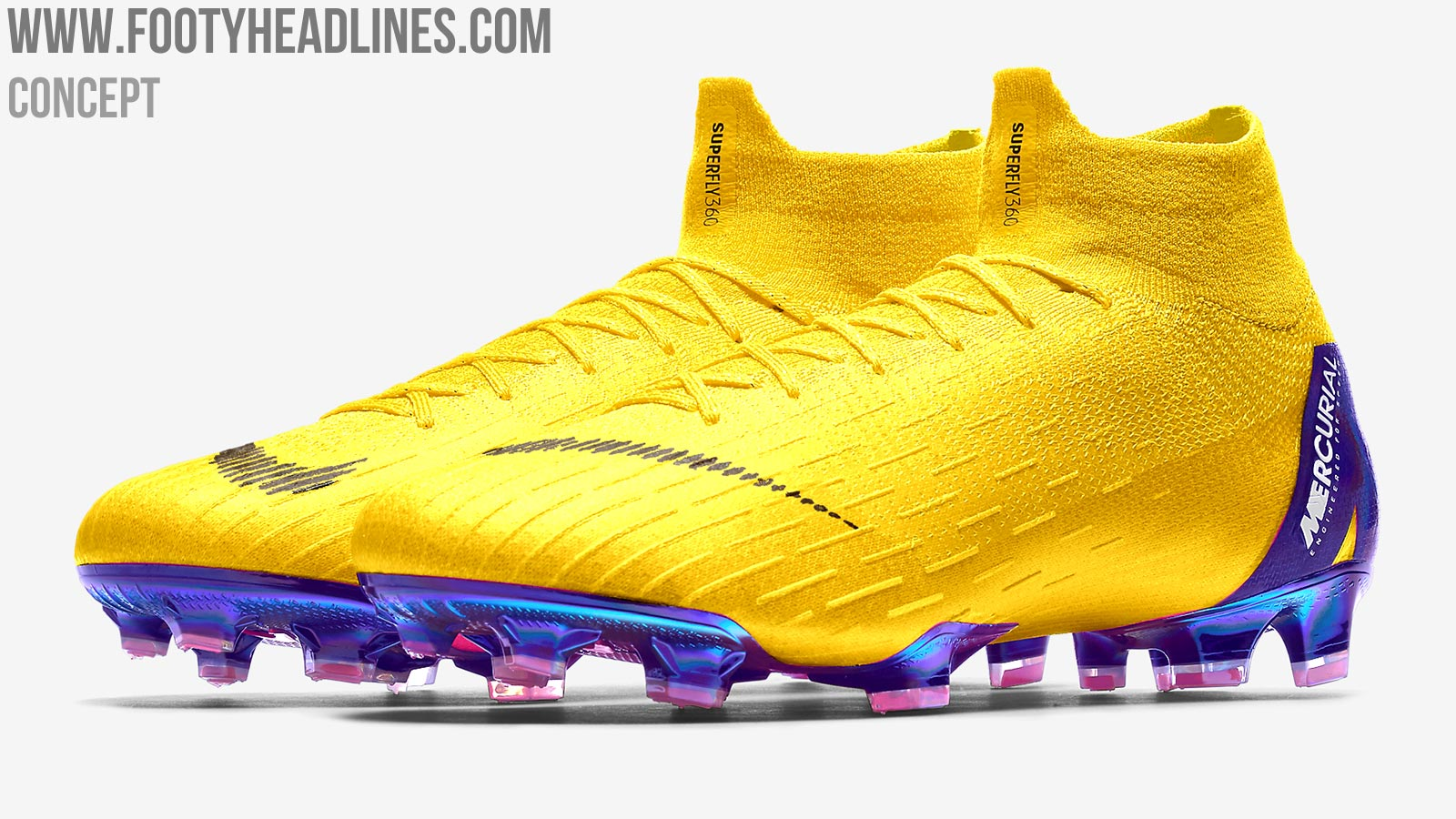 7 stunning nike mercurial superfly 360 concept boots