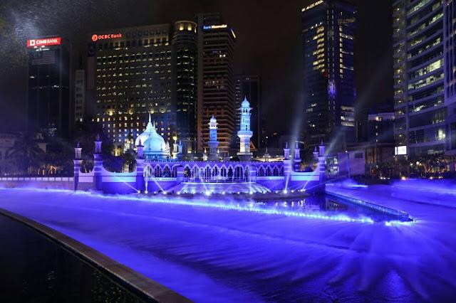 Projek Kolam Biru Dan River Of Life (ROL) Tarikan Terbaru Kuala Lumpur
