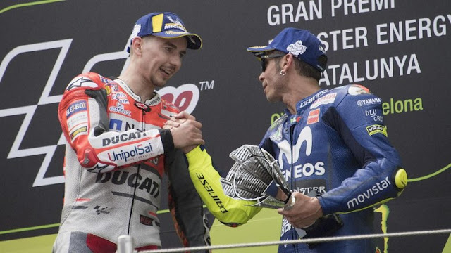 Lorenzo: Rossi Bertingkah Seperti Anak Kecil