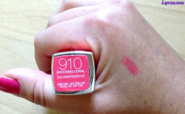 Maybelline Szminka Color Sensational Vivids, Shocking Coral 910