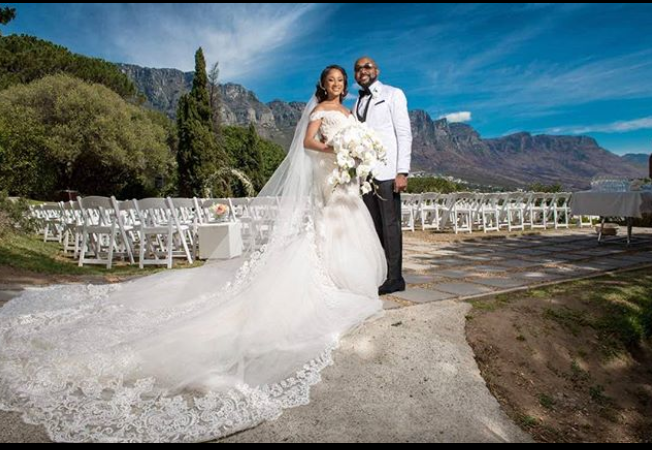 First official photos from Banky W and Adesua Etomi's Wedding