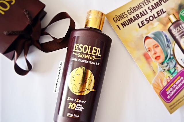 lesoleil-şampuan