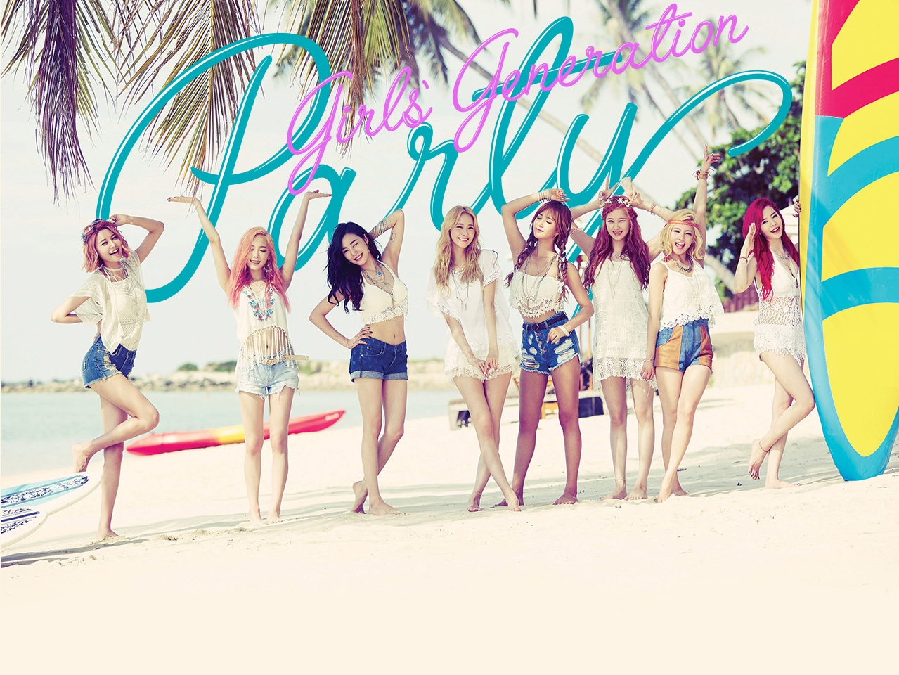 Girls' Generation – PARTY (2015) Full Album