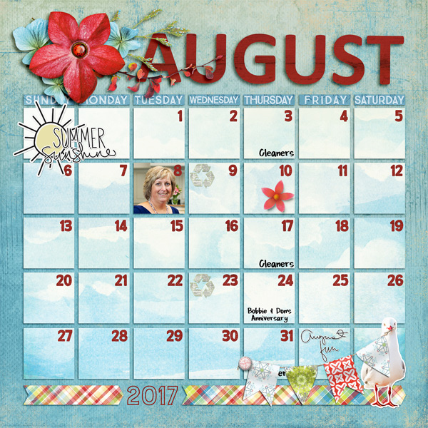 Scrapping with liz new monthly calendar and review templates new monthly calendar and review templates pronofoot35fo Choice Image