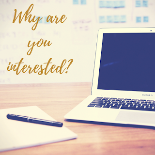 Cover Letter - Why are you interested?