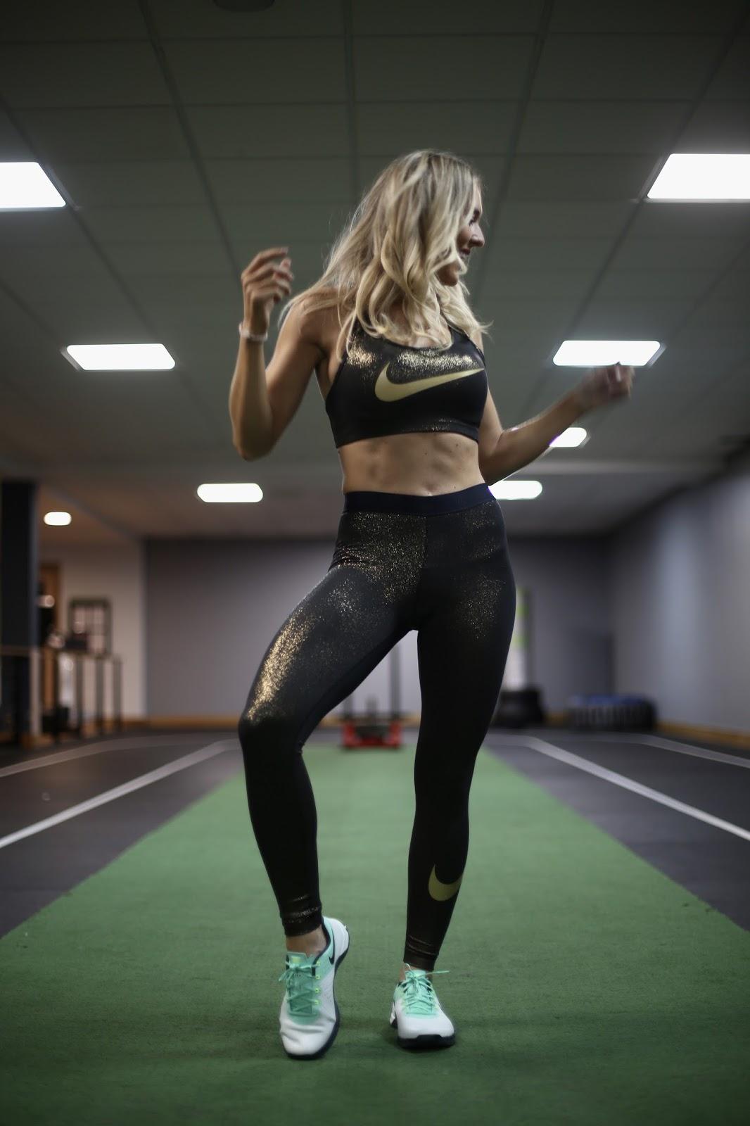nike sparkly gym kit
