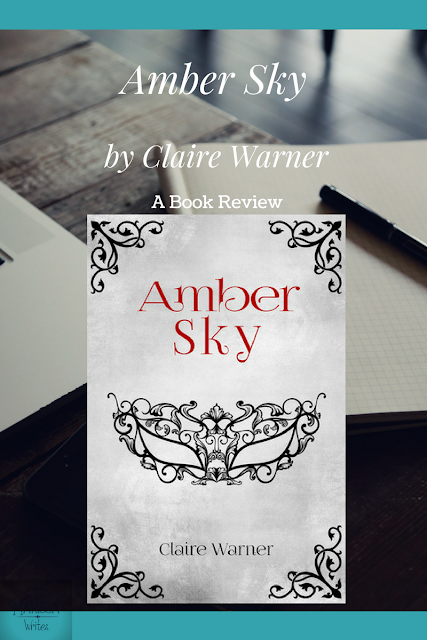 Amber Sky by Claire Warner - a steampunk YA review on Reading List