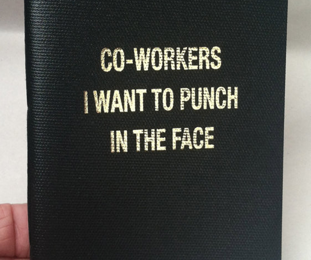 Co-Workers To Punch Notebook