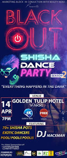 Don't miss the Upcoming Shisha Dance Party