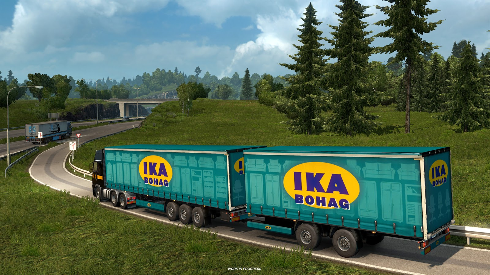Euro Truck Simulator 2 - High Power Cargo Pack For Mac