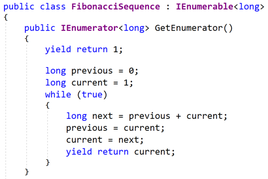 Jeremy Bytes Implementing A Fibonacci Sequence With Value Tuples In