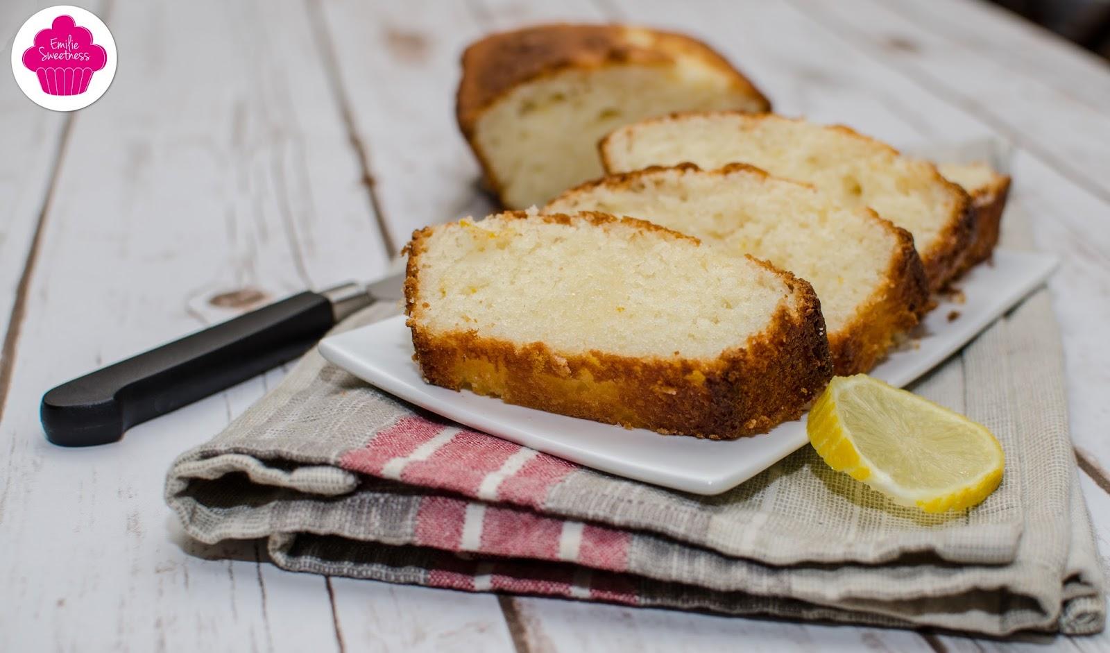 Cake Citron Lait De Soja