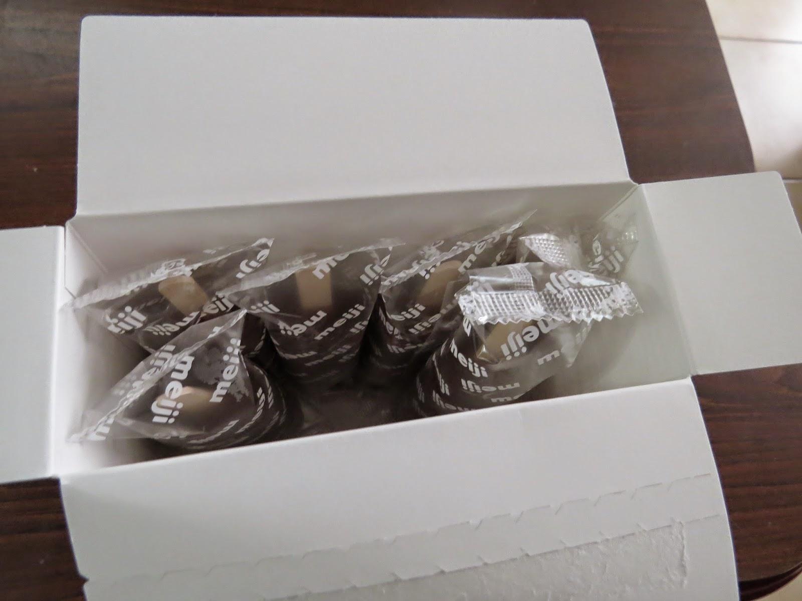 ~菇菇莉莉 GUGULILY~: [心得]明治草莓雪糕---跟巧克力版一樣好好味呀~(GU