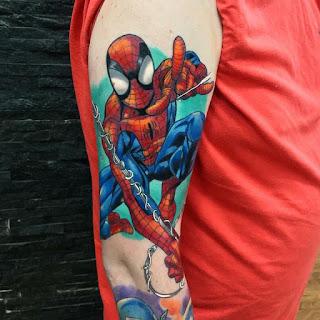 tatuaje Spider Man