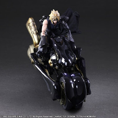 Play Arts Kai Cloud Strife & Fenrir  de Final Fantasy VII Advent Children - Square Enix