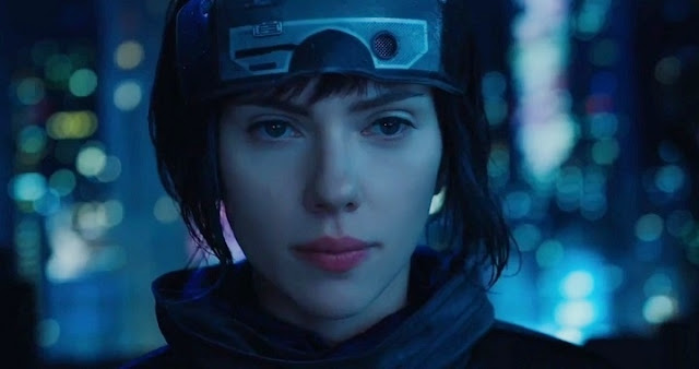 Scarlett Johansson de Marvel a Ghost in the Shell
