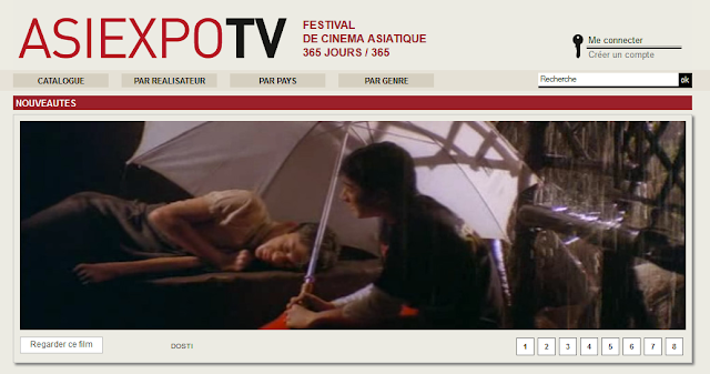 page d'accueil : Asiexpo TV