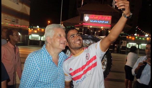 رسمياً الزمالك يضم ابراهيم عبدالخالق لصفوف الفريق الموسم المقبل