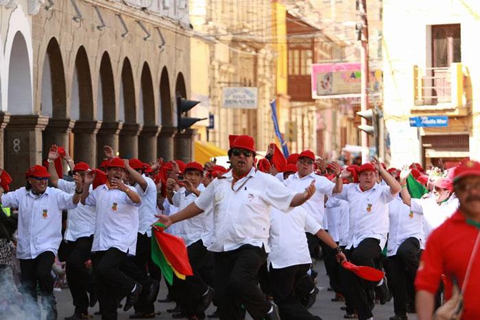 Rol de Ingreso Primer Convite Carnaval de Oruro 2019