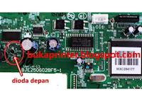 Cara Service Printer Epson L100, L200 dan Tx 121 Mati Total (Matot)