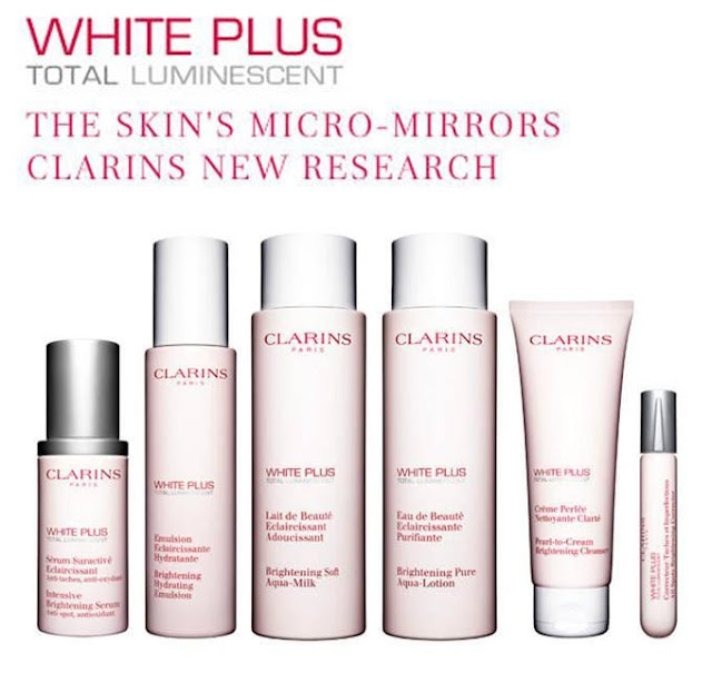 Clarins White Plus Total range