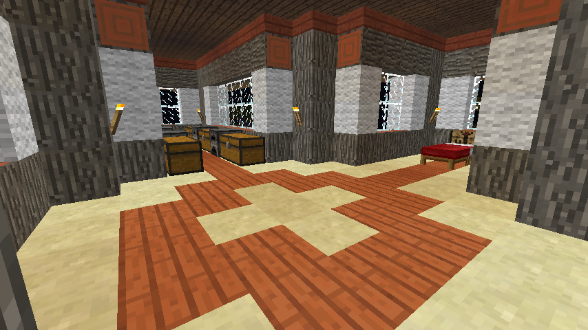 Youssarian S Minecraft Blog Acacia And Wool House