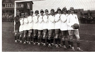 Kerr's Ladies Football Club in 1921