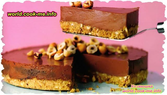 Шоколадно-ореховый чизкейк