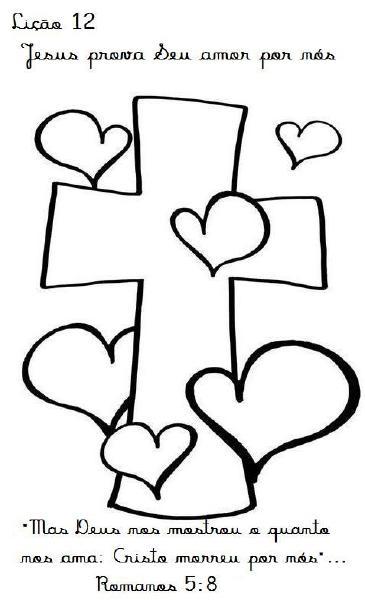 Evangeliza!: Páscoa:Desenhos biblicos para colorir,cruz