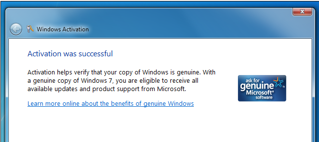 Successful downgrade- windows 8 or windows 8.1 to windows 7