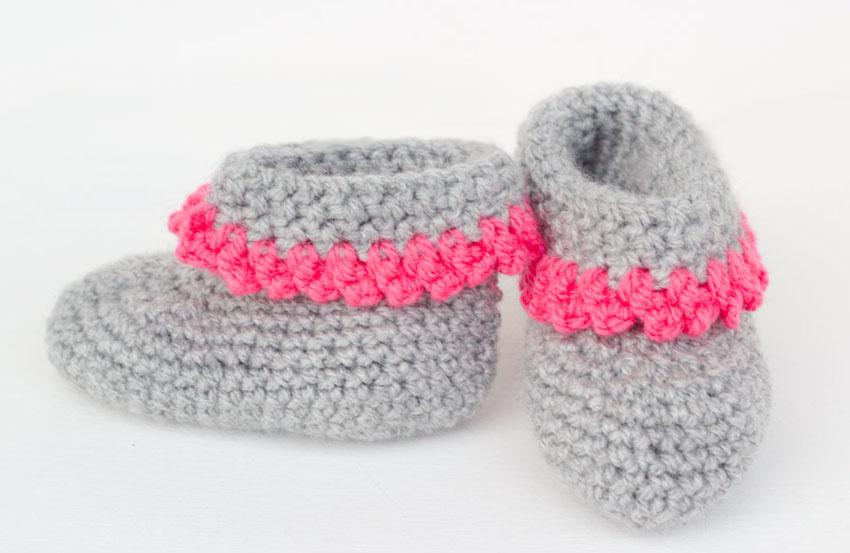 Babyschuhe Mit Anleitung Ars Textura Diy Blog