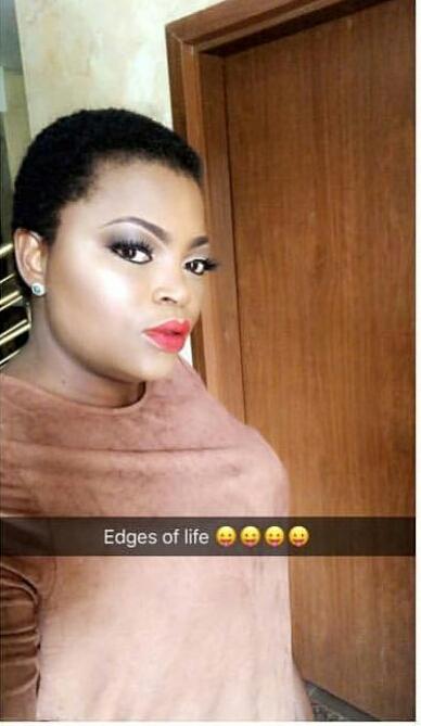 Funke Akindele shows off new look