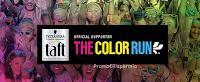 Logo Concorso ''Taft Runner'' e vinci kit di prodotti e biglietti Color Run Testanera