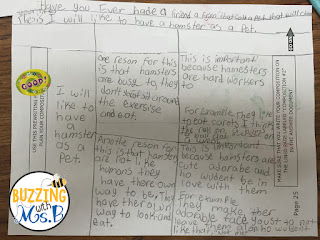 Support your elementary writers with these graphic organizers that scaffold the expository writing process. Easy ideas to implement with pictures of anchor charts to help your students learn the process!