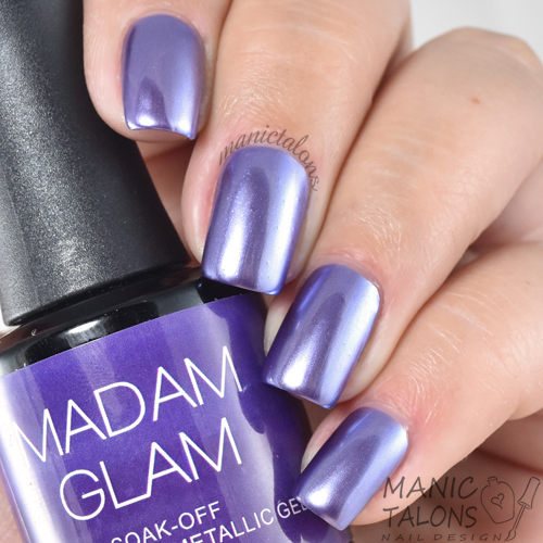 Madam Glam Metallic Gel Trip to Florida Swatch