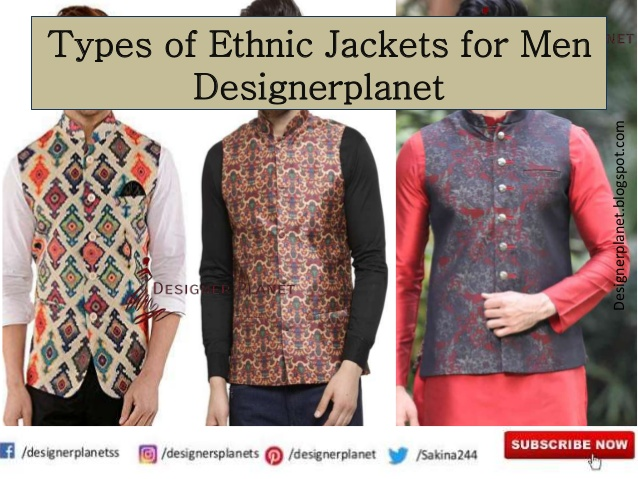 Guide to the Style and Wearing a Ethnic Jacket || Ethnic Jacket for Men | Designerplanet