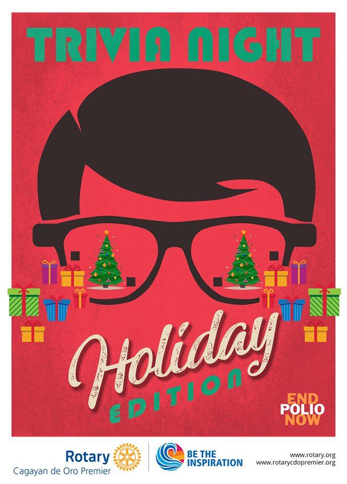 Rotary Club of Cagayan de Oro Premier's TRIVIA NIGHT - Christmas Edition