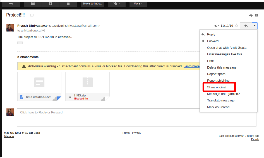 How to Download Gmail Blocked Attachments [With Pictures] | 919 x 553 png 77kB