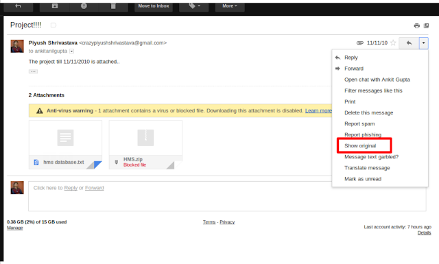 Download Gmail Blocked Attachments