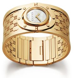 gucci gold watches for ladies