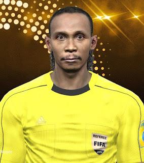 PES 2017 Referee Facepack by Purp Mete
