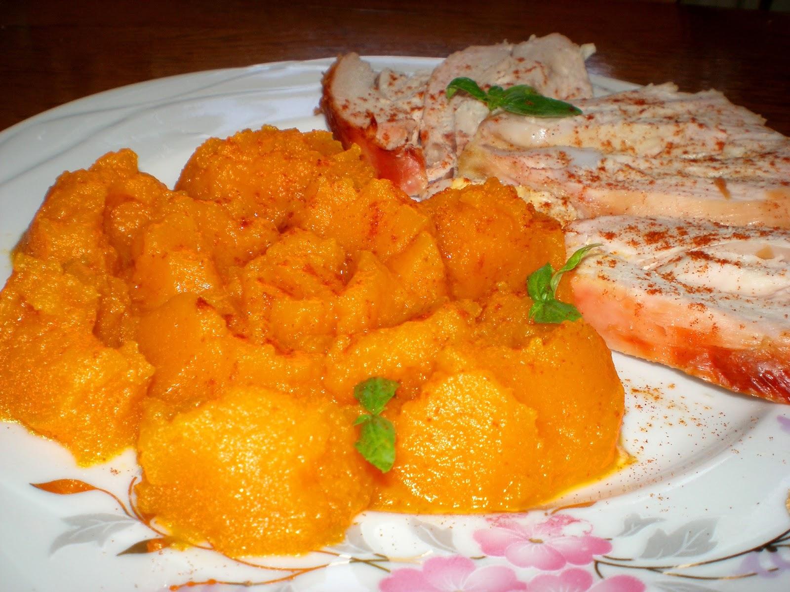 Piure de morcovi
