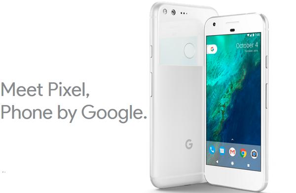 Lanzamiento Google Pixel y Pixel XL lo nuevo