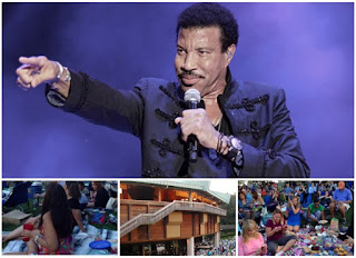 Lionel Richie concert and pre-concert picnic at the Wolf Trap