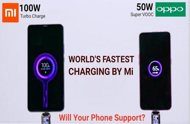 Super Teknologi Turbo Charge Xiaomi 100W