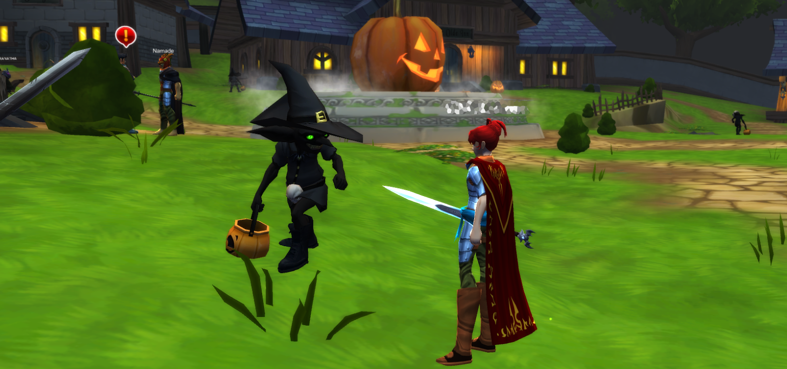Inventory Full: I Know When I'm Not Welcome : AQ3D