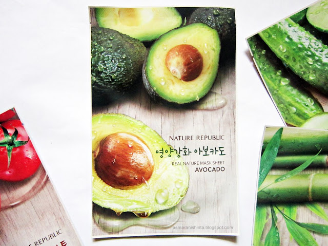 nature republic real nature mask sheet avocado