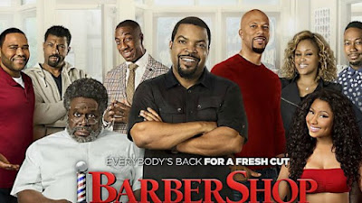 The Regulars Are Back Cedric Entertainer Anthony Anderson Eve Troy Garity Sean Patrick Thomas But Theres No Gina Queen Latifah From Beauty Shop