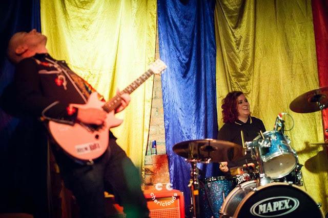 Kiss Me, Killer performing at LaDIYfest 2017 at Southbank, Bristol 4/11/2017