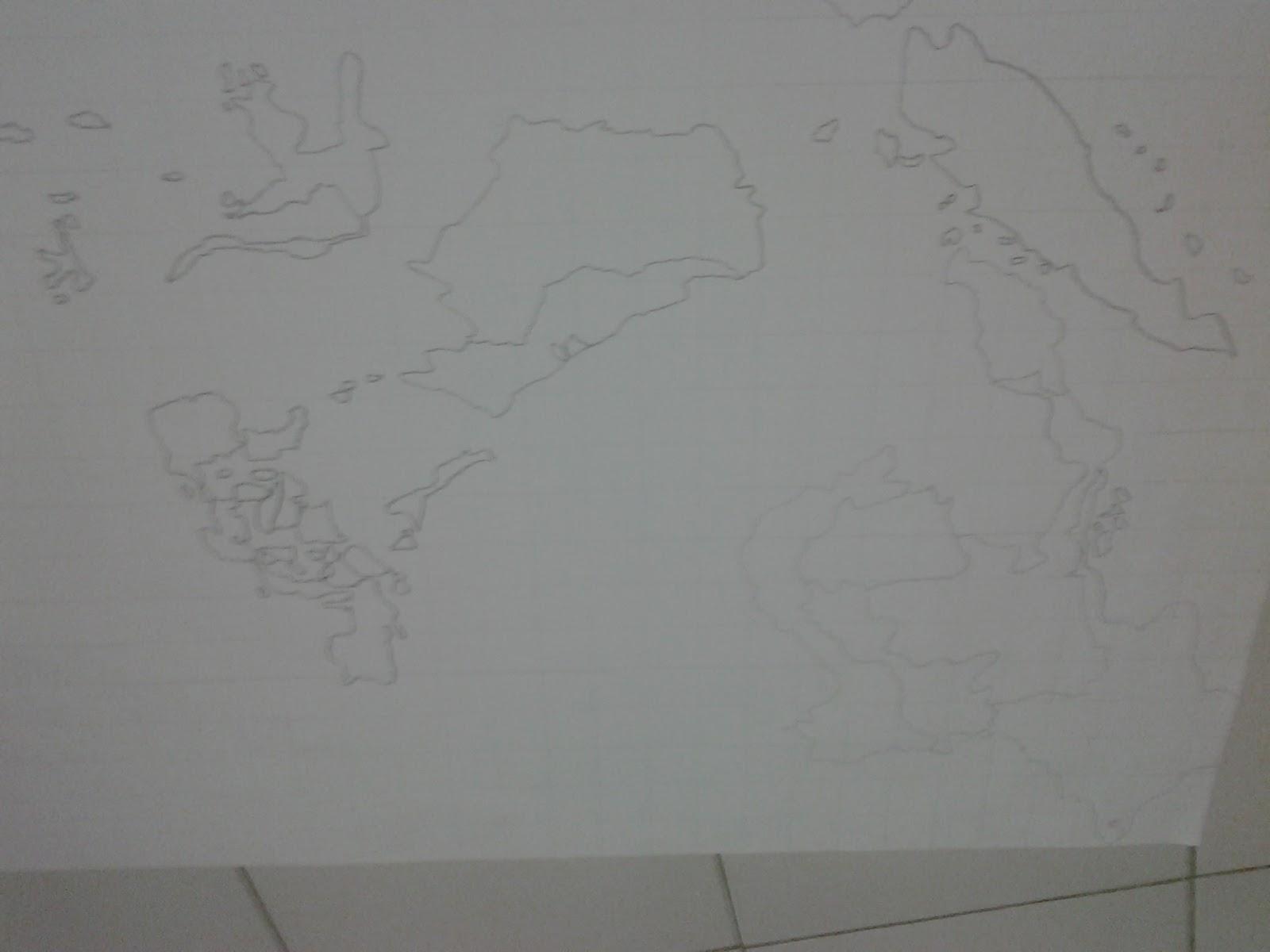 Peta Indonesia: Cara Menggambar Peta Indonesia Di Kertas ...
